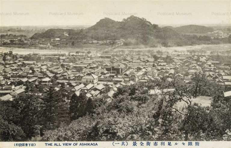 lt1470-Whole View Ashikaga 俯瞰セル足利市街全景其一