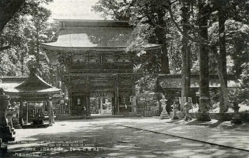 ll1230-Kashima jingu Ibaraki 老樹の香氣漂ふ、常陸國の一ノ宮鹿島神宮樓門 茨城
