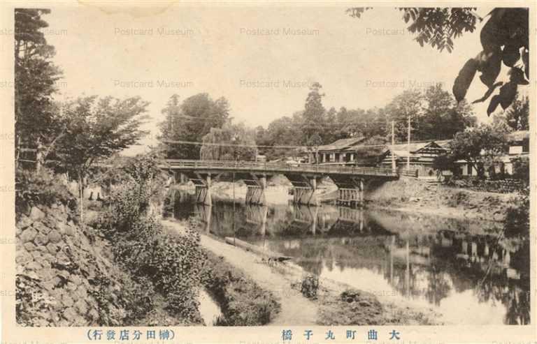 er955-Maruko Bridge Oomagari 丸子橋 大曲町
