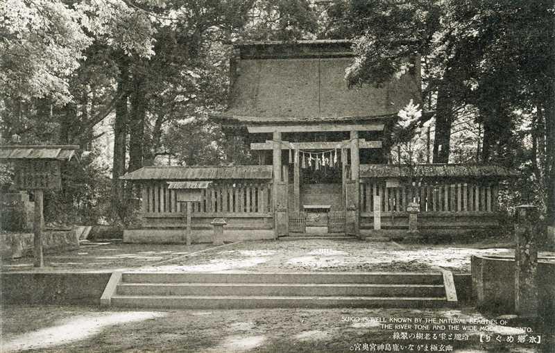 ll1239-Kashima jingu Ibaraki 玲瓏と雫る老樹の翠翠 幽玄極まりない鹿島神宮奥宮 茨城