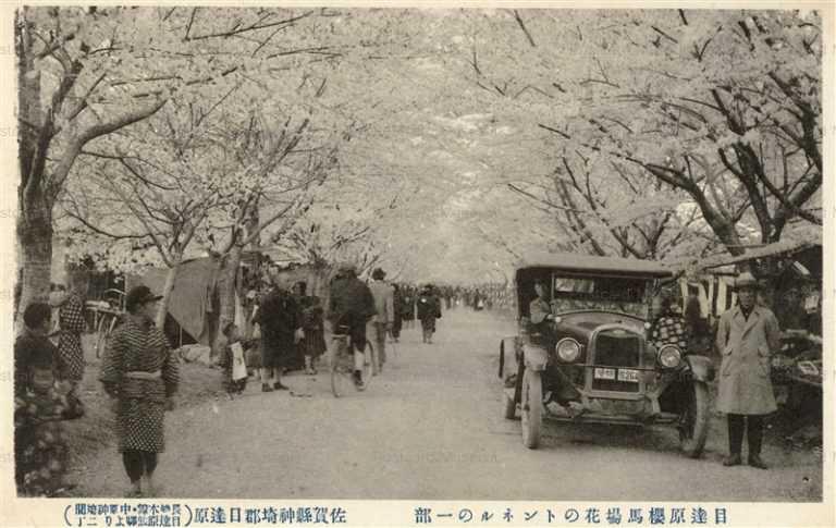 sag110-Metabaru Saga 目達原櫻馬場花のトンネル 佐賀縣神埼郡目達原 佐賀