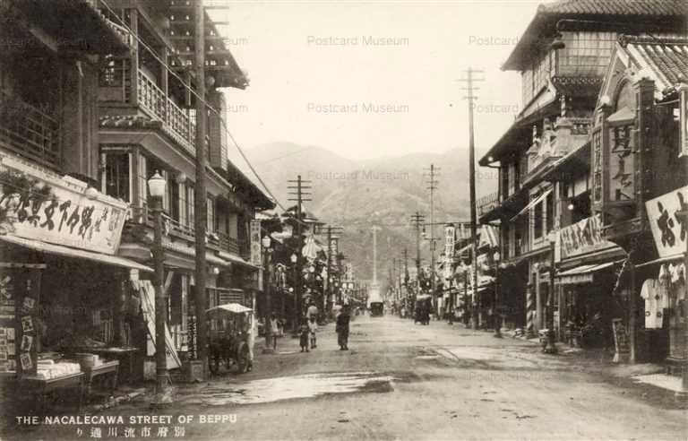 oi124-Nagaregawa Street Beppu 流川通り 別府