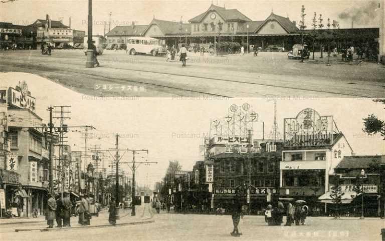 se045-Sendai Station Oodori 駅前大通り 仙台ステーション
