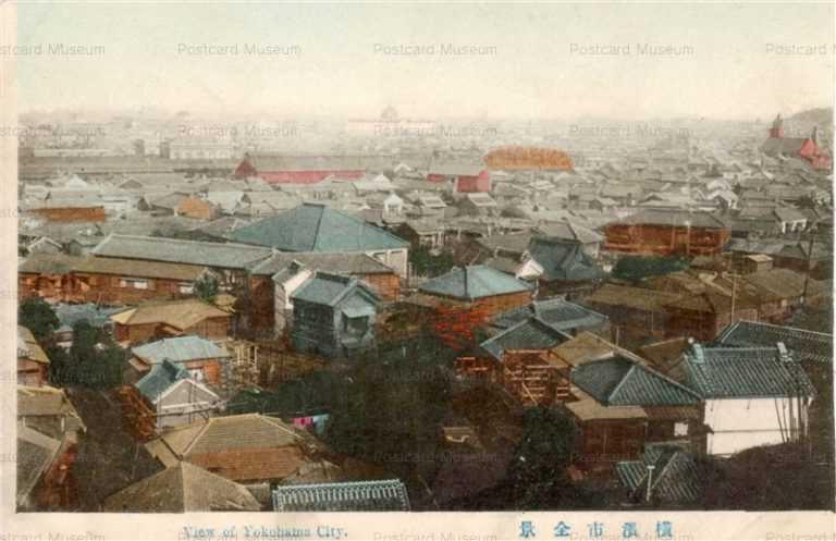 yb170-View of Yokohama City 横浜市全景