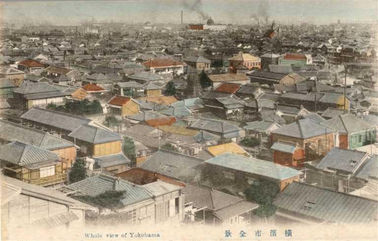 yb190-Whole View of Yokohama 橫濱市全景