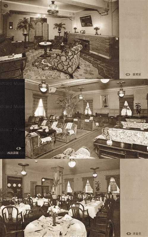 ls551-Yukou Club 有恒倶楽部 貴賓室 西談話室 洋食堂