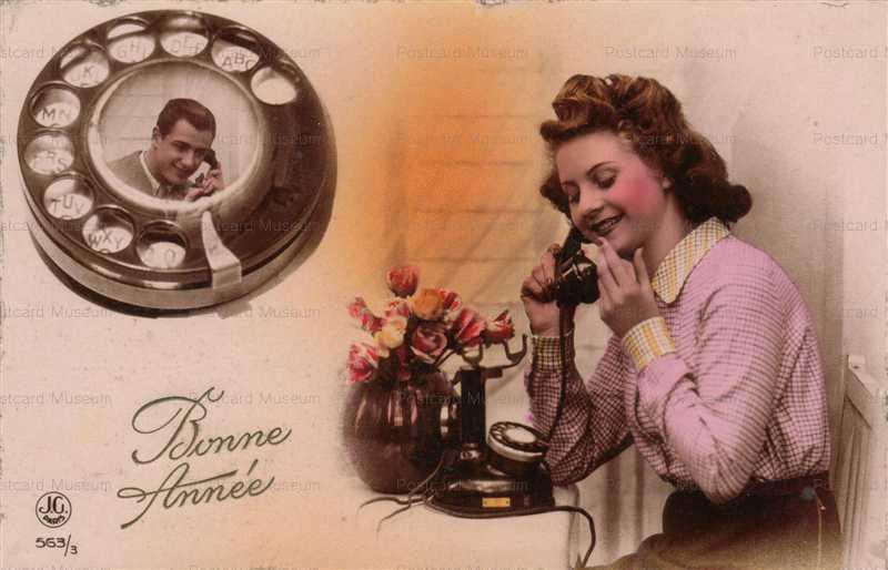 ag610-Love Telephone