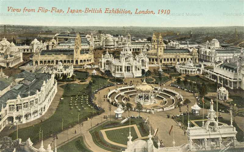 ag810-Japan British Exhibition London Flip Flap