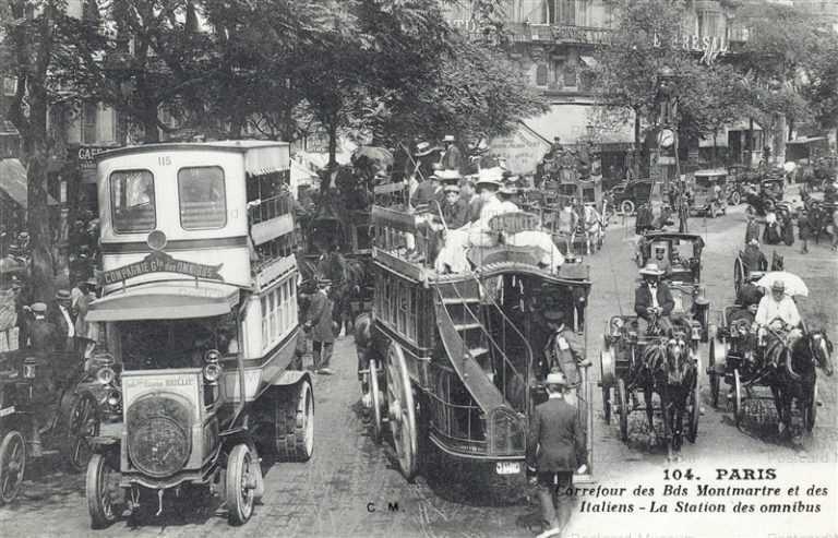 car020-Carrefour des Bds Montmarte et des Italiens 104 Paris