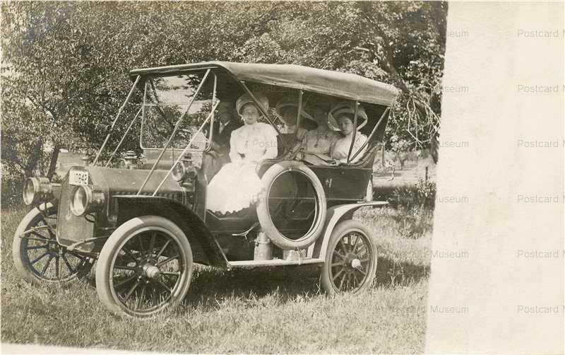 car101-Full Dress Woman Car