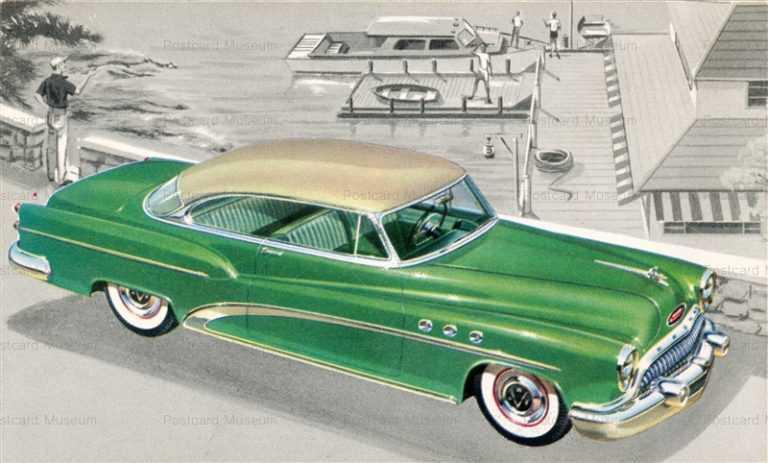 car260-1953 Buick Super Riviera 2 Door Sedan Car Chrome PC