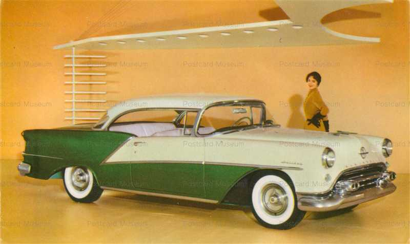 car295-1957 Oldsmobile 98 Deluxe Holiday Coupe Car Chrome PC