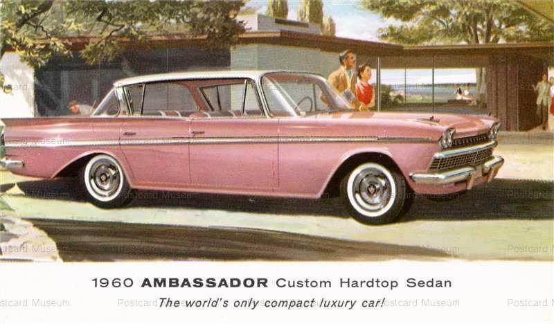 car340-1960 Ambassador Custom Hardtop Sedan