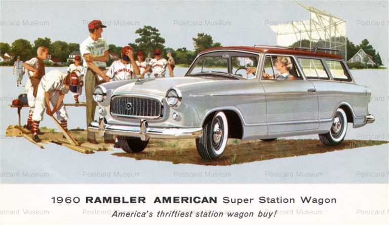 car342-1960 Rambler American Super Station Wagon