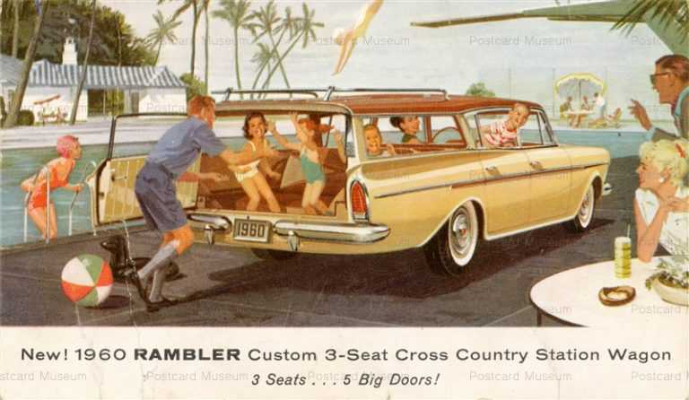 car344-1960 Rambler Custom 3-Seat Station Wagon