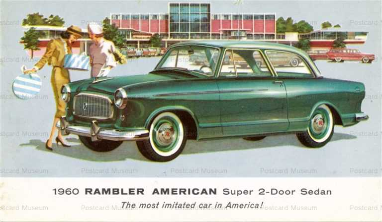 car349-1960 RamblerAmerican Super 2-Door Sedan