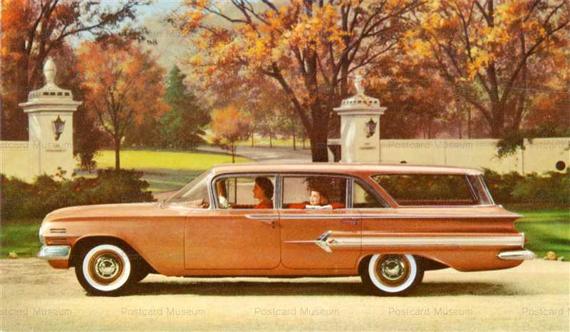 car365-1960 Nomad 4-Door Station Wagon by Chevrolet