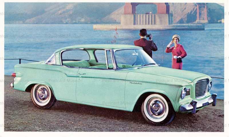 car370-1960th Studebake Lark 2 Door Hardtop