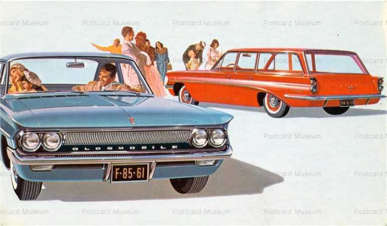 car390-1961 Oldsmobiles F-85 DeLuxe Sedan&Wagon