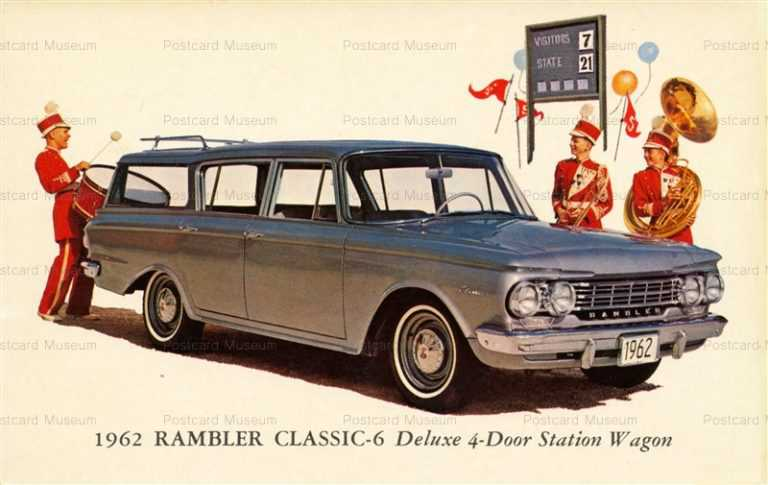 car402-1962 Rambler Classic-6 Deluxe 4-Door Station Wagon