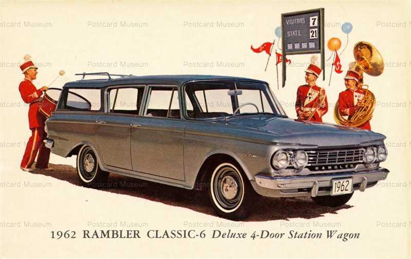 car402-1962 Rambler Classic-6 Deluxe 4-Door Station Wagon