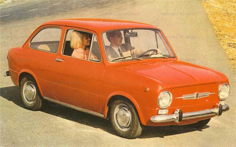 car500-Fiat 850 Orange
