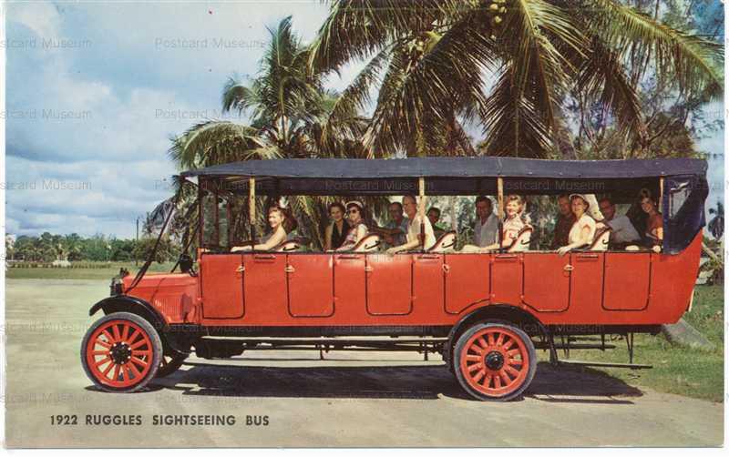 car670-1922 Ruggles Sightseeing Bus