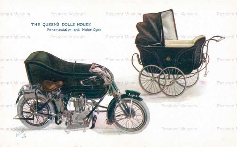 car720-Tuck Queen's Doll House Perambulator