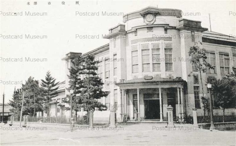 ey1250-Yonezawa City Office 米沢市役所 山形