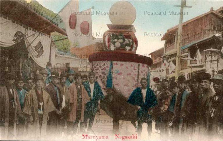 na1050-Suwataisai kasahoko Maruyama,Nagasaki 諏訪大祭丸山