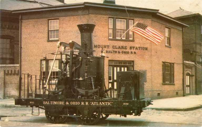 trm020-Baltimore & Ohio R R Atlantic