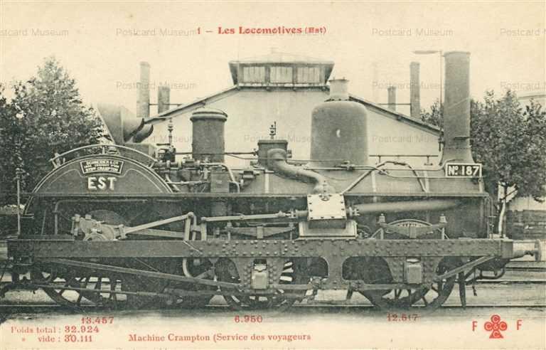 trm030-Rail Road R R Locomotive