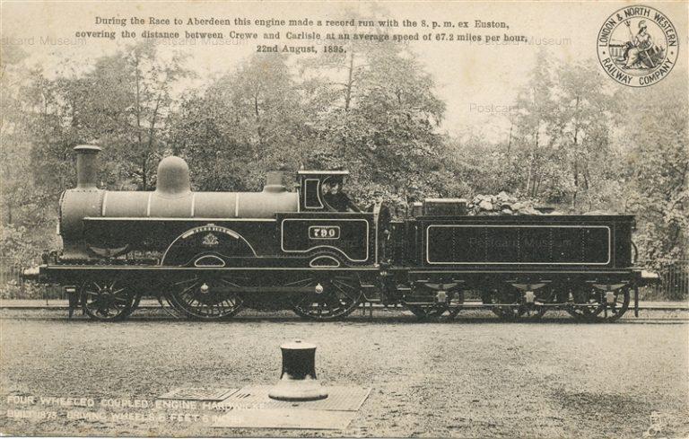 trm060-Crewe and Curlisle Average Speed 67.2Miles Build1873