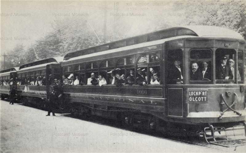 trm395-William Reed Gordon Trolley Series IRC Three Car Train