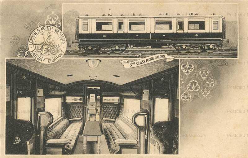 trm460-London&North Western Railway Company 3rd Class Picnic