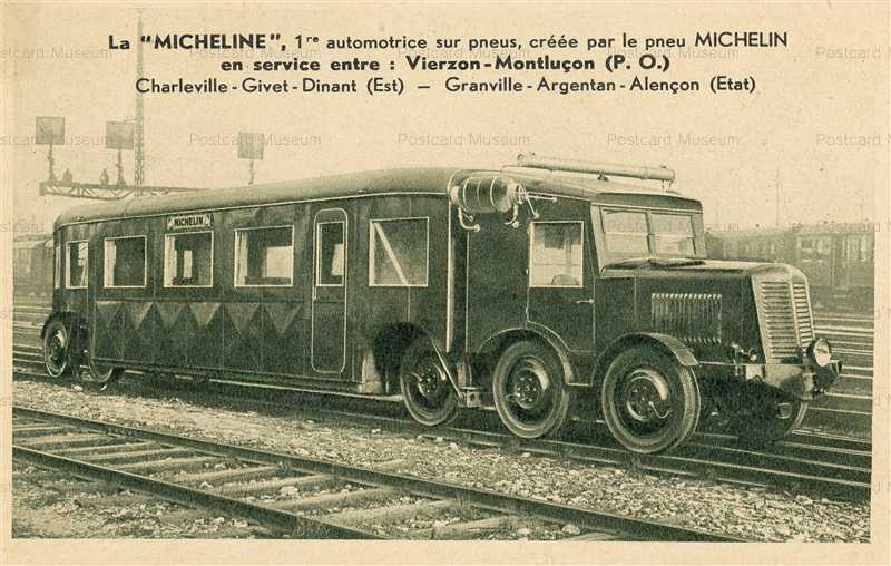 trm500-Train on Michelin Tires La Micheline