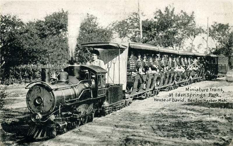 trm550-Miniature Train House of David Benton Harbor
