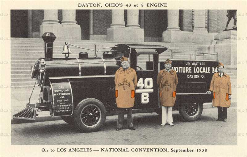 trm740-Dayton Ohio's 40 et 8 Engine 1938
