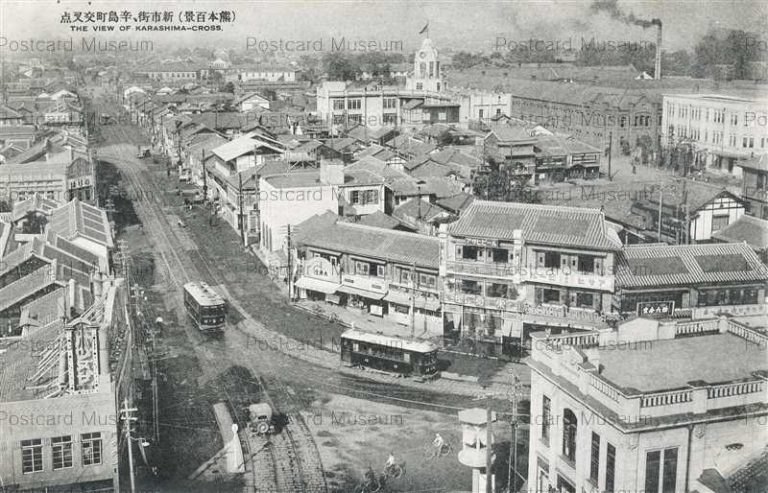 kum145-Karashima-Cross Kumamoto 辛島町交差点 新市街 熊本