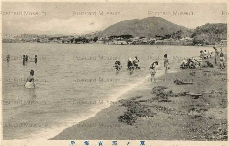 lb702-Nago Beach Summer 夏ノ那古海岸 千葉館山