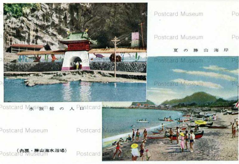 lb774-Katsuyama Beach Summer Chiba 夏の勝山海岸
