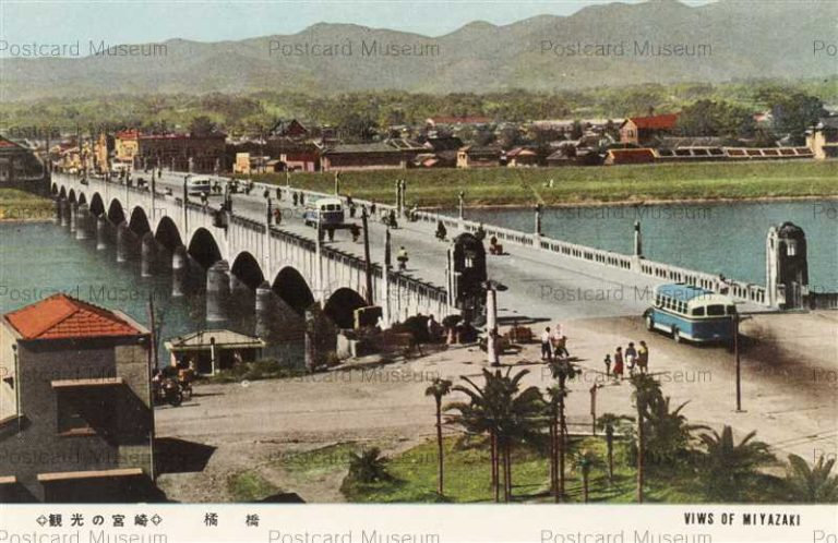 miy120-Tachibana Bridge Miyazaki 橘橋 観光の宮崎