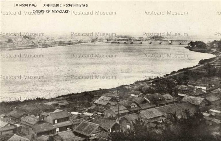 miy360-Tenjinyama Park Miyazaki 天神山公園より宮崎市街