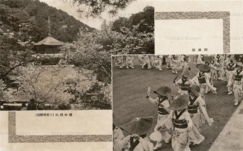 xt1170-Awaodori 阿波踊 桜の眉山 三重塔付近