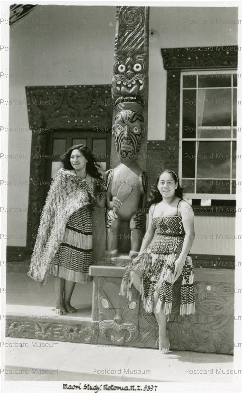 gn112-Maori Study Rotorua N.Z.5397
