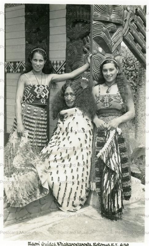 gn114-Maori Guides Whakarewarewa RotoruaN.Z.4139