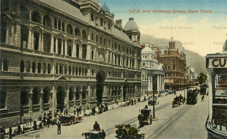 gsa012-G.P.O. and Adderley Street Cape Town