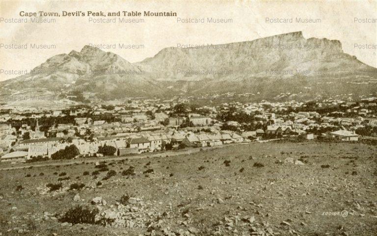 gsa026-Cape Town Devil's Peak and Table Mountain