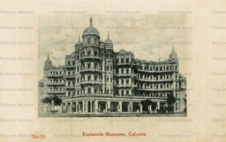 ind014-Esplanade Mansions Calcutta