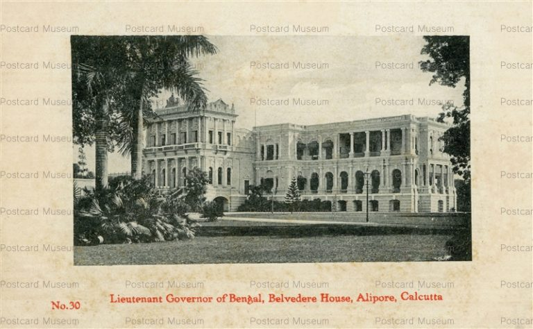 ind020-Lieutenant Governor of Bengal Belvedere House Alipore Calcutta